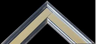 PC Mirror Inlay Silver