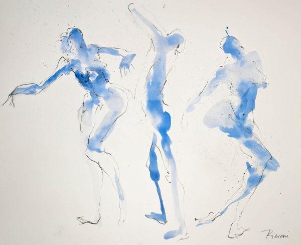 BPG567 Blue Trio I